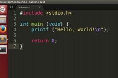 """Az egyik legegyszerűbb program a """"hello world"""" kódja"""